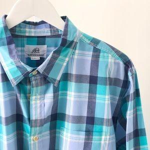 Surfside Supply Mens Plaid Shirt XL